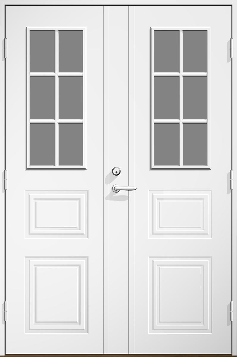 Dala Dörren Monica glas par-ytterdörr frÃ¥n bygglagret : innerdörr mått : Inredning